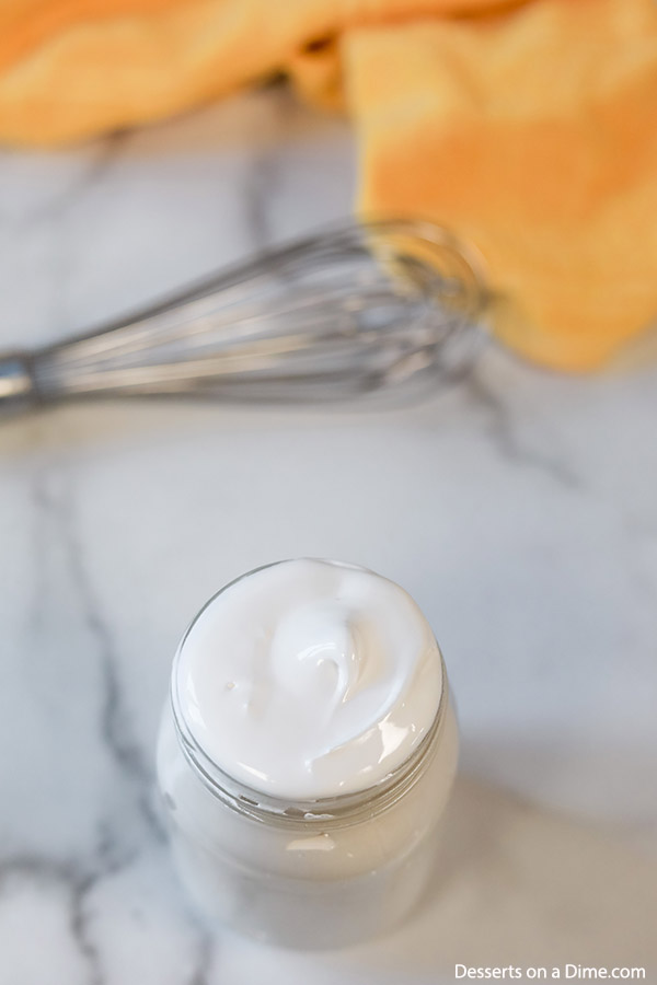 Don't let the idea of Homemade marshmallow fluff recipe scare you away. It is actually so easy and taste so much better than store bought. Give this a try.