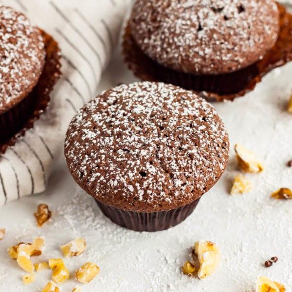 Mini Brownie cupcakes Recipe