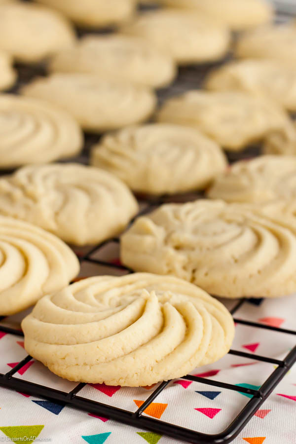 Butter Cookies Recipe - easy to make butter cookies