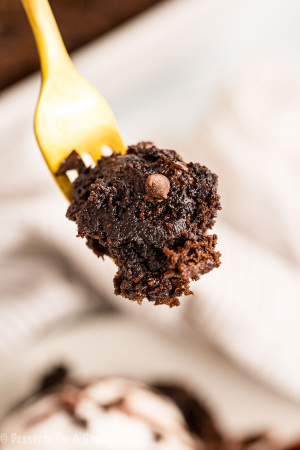 Chocolate dump cake is so decadent with lots of chocolate chips and delicious toppings. Each bite is loaded with chocolate for a dessert you can't resist.