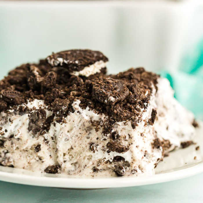 We are crazy about oreo cookies and Oreo Ice Cream Cake Recipe is delicious! Skip the expensive store bought ice cream cakes and make Oreo Ice Cream Cake.