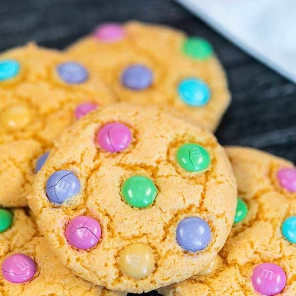 Easter Cake Mix Cookies