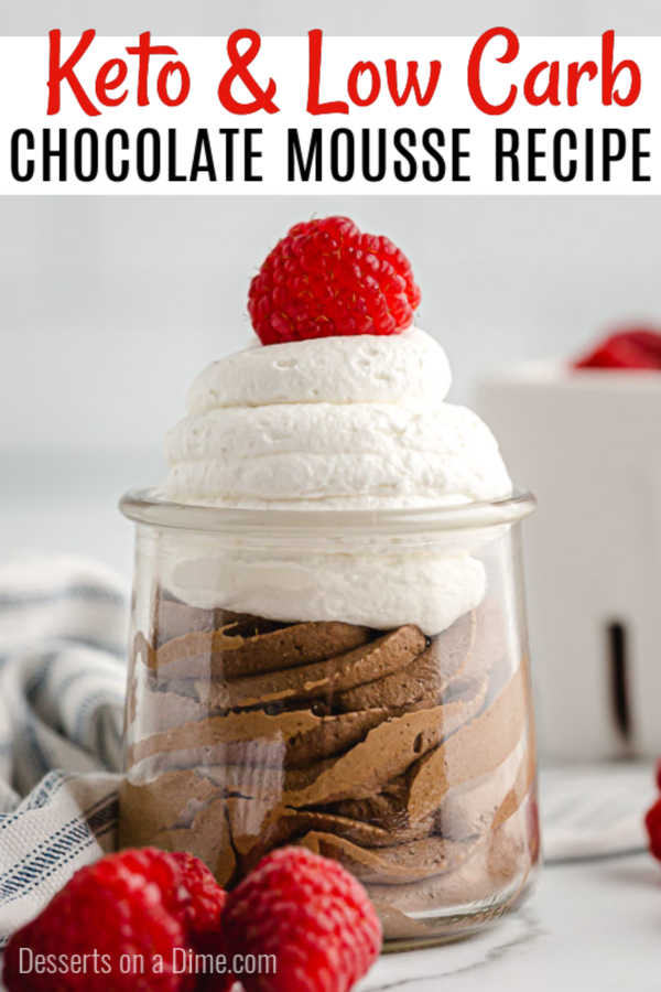 Keto chocolate mousse is ready in only 5 minutes for the perfect Keto friendly dessert in minutes. Make this for a decadent treat you can enjoy in minutes.