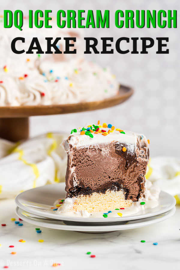 Save money and learn how to make ice cream cake at home. This COPYCAT DAIRY QUEEN ICE CREAM CAKE is so easy to make and tastes amazing.